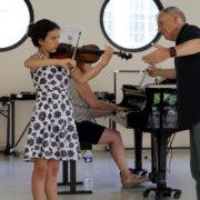 Zakhar Bron Violin Masterclass Menton 2018 1