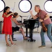 Zakhar Bron Violin Masterclass Menton 2018 12